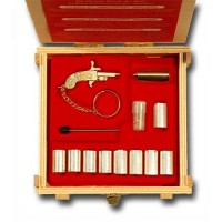 Berloque Kit Rustikal GOLD edition Pinfire Gun 2 mm.