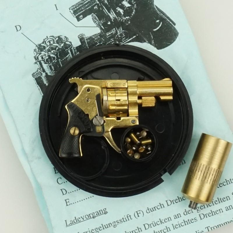 Xythos Key-ring chain GOLD KIT Gun 2 mm.