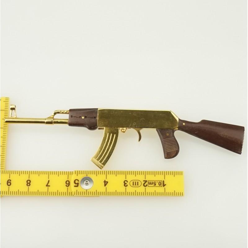 Key-ring chain AK 47 GOLD edition