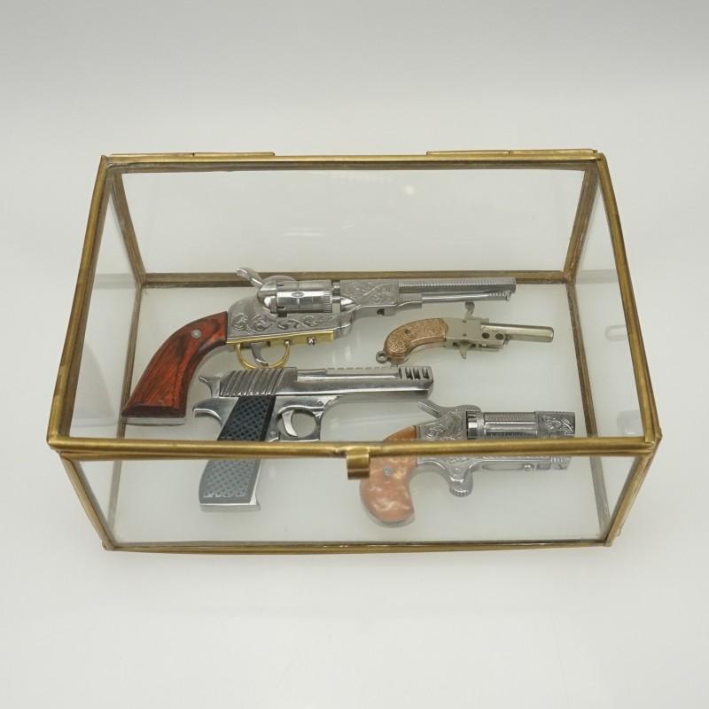 Display Case for Pinfire Guns