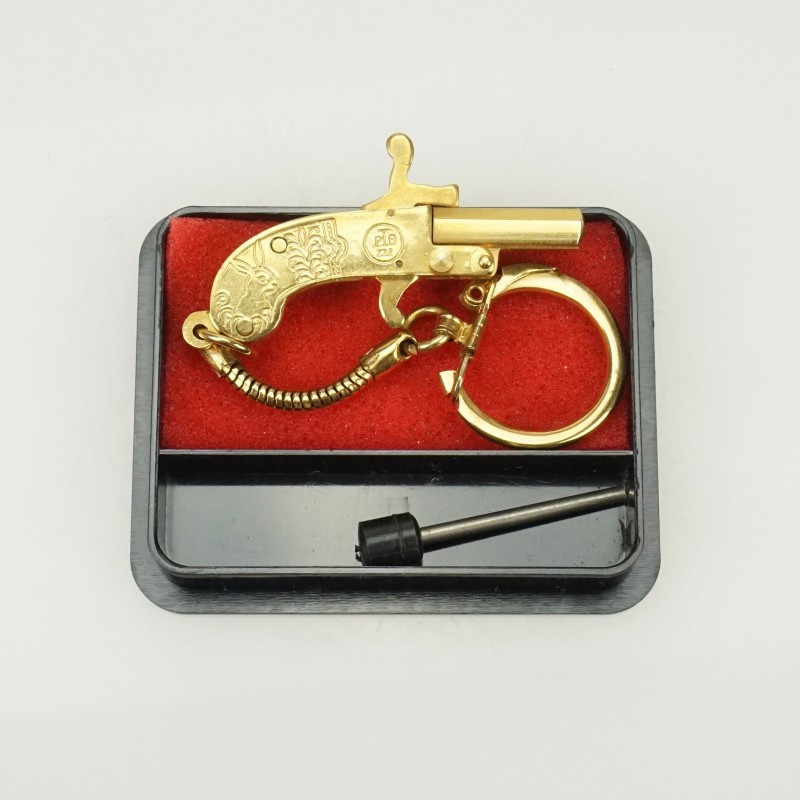 Berloque Key-ring chain Kit from 90s 24K GOLD pl NEW